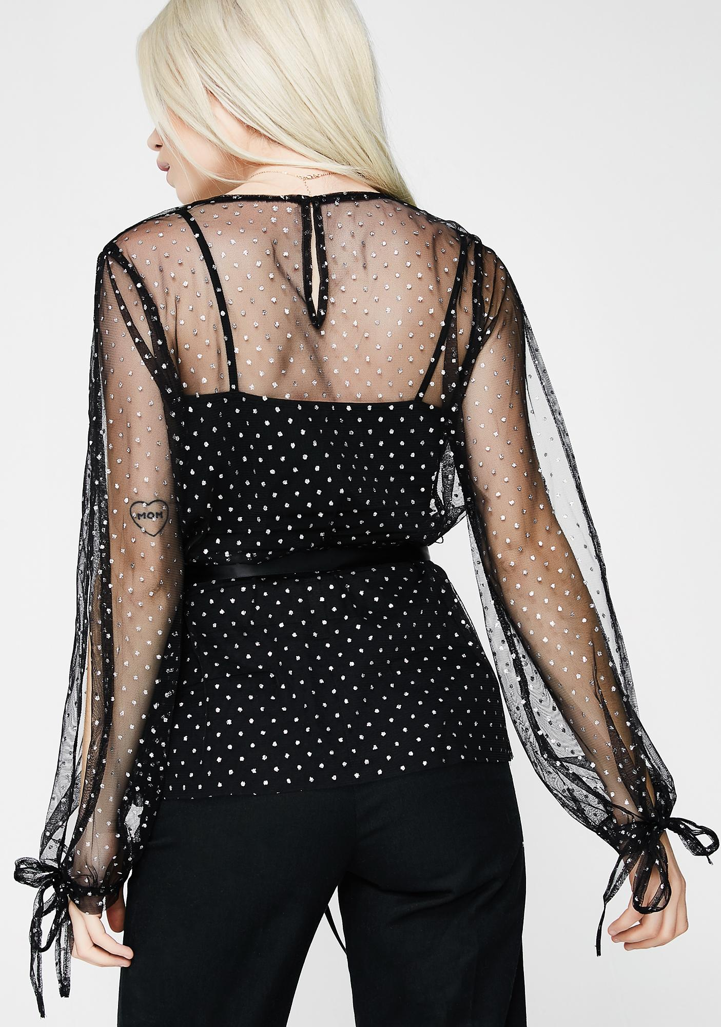 Mz Perfect Mesh Blouse