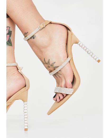 Galaxy Glamour Rhinestone Heels
