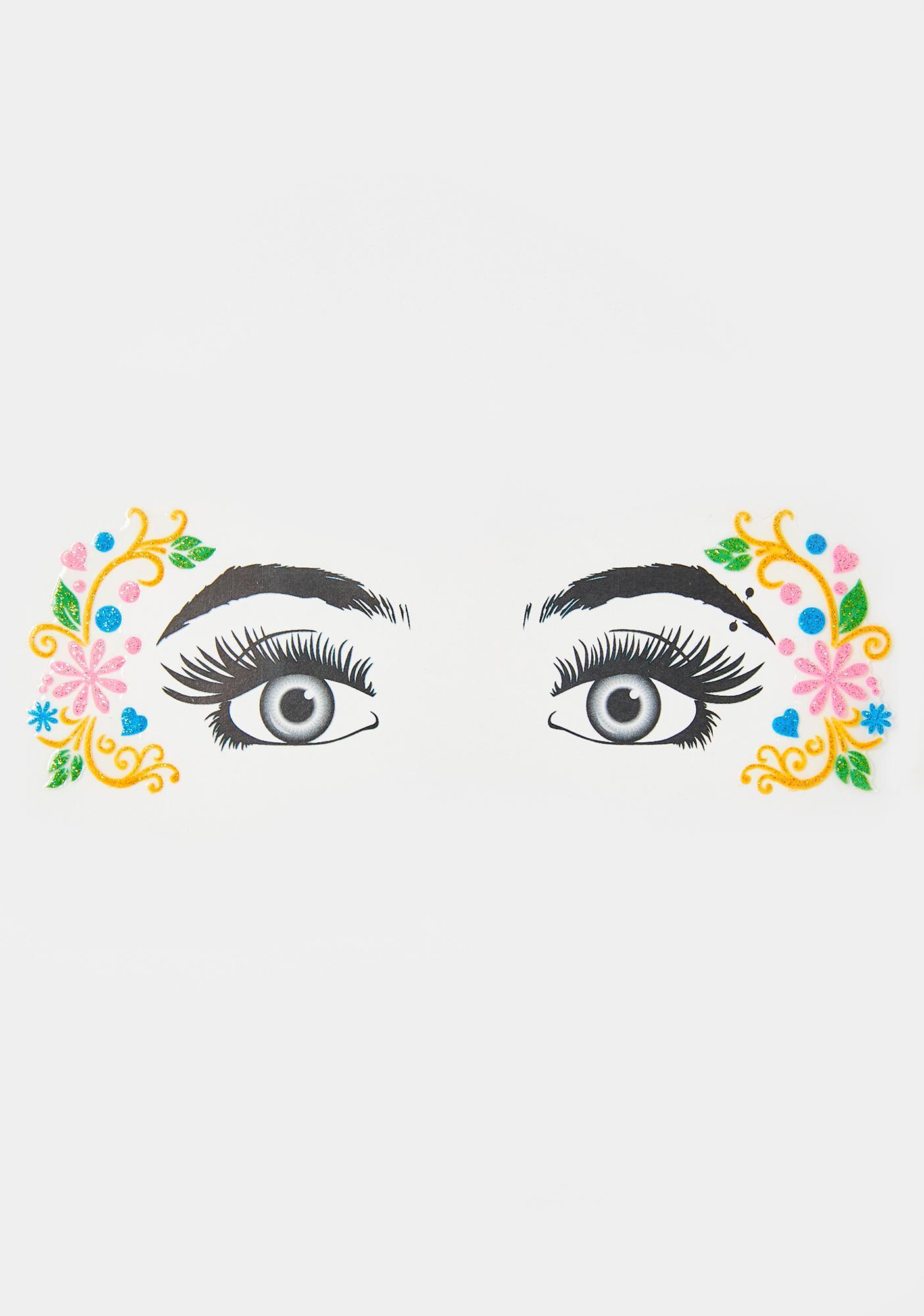 Glitzy Nymph Glitter Eye Decals