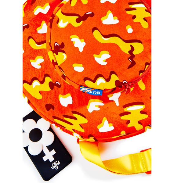 Mokuyobi Cheese Doodle Circle Backpack
