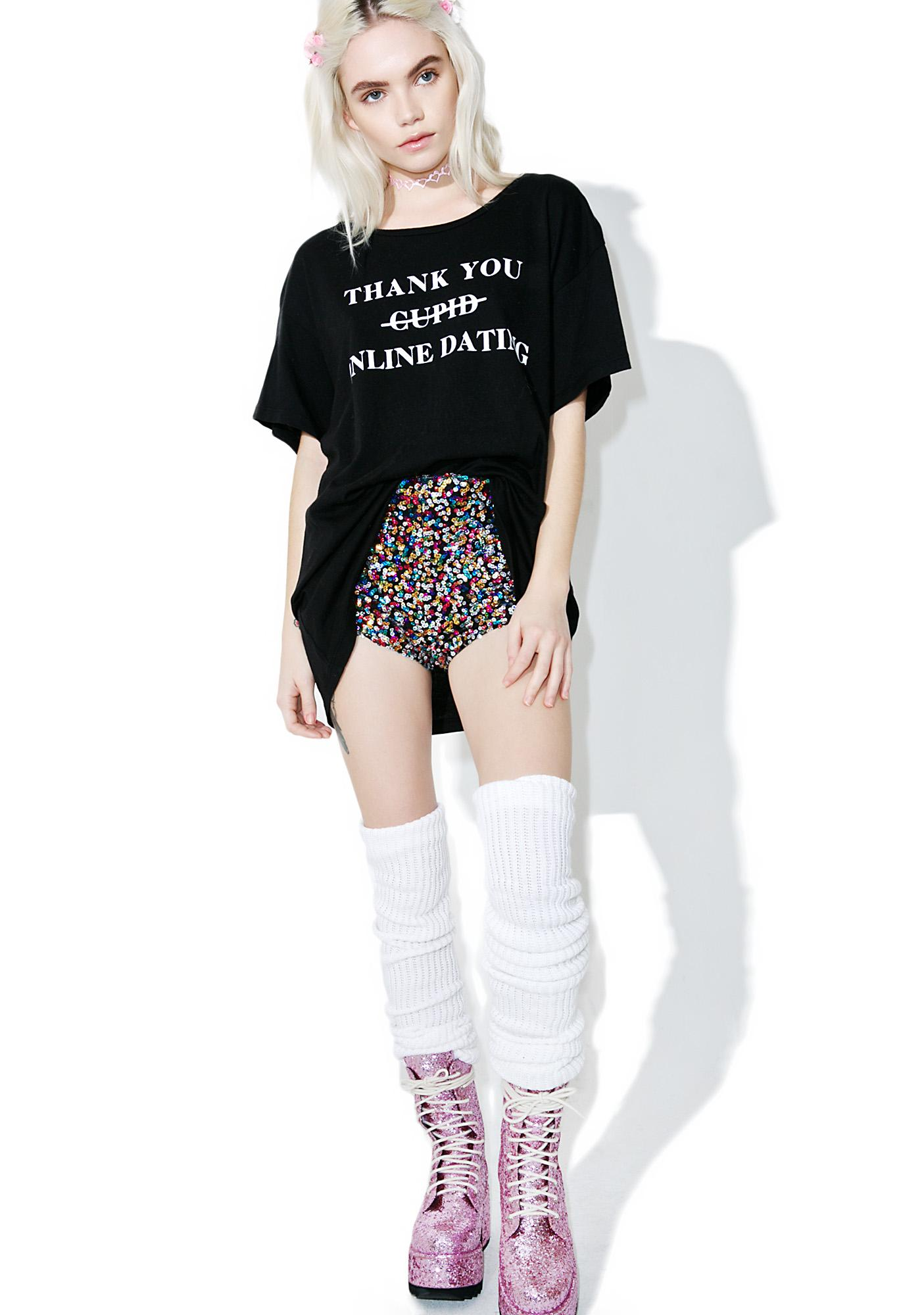 Wildfox Couture Swipe Right Manchester Tee