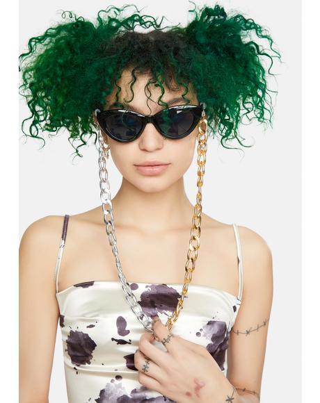 Mixed Metals Sunglasses Chain