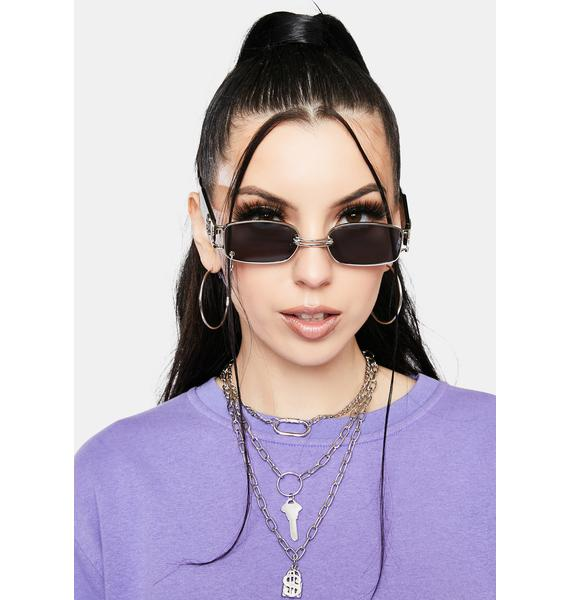 Accept No Limits Layered Chain Necklace