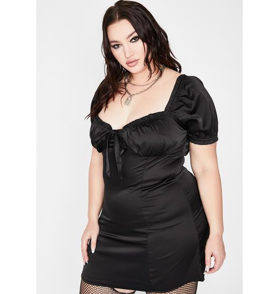 Noir Infinite Sincerely Yours Mini Dress