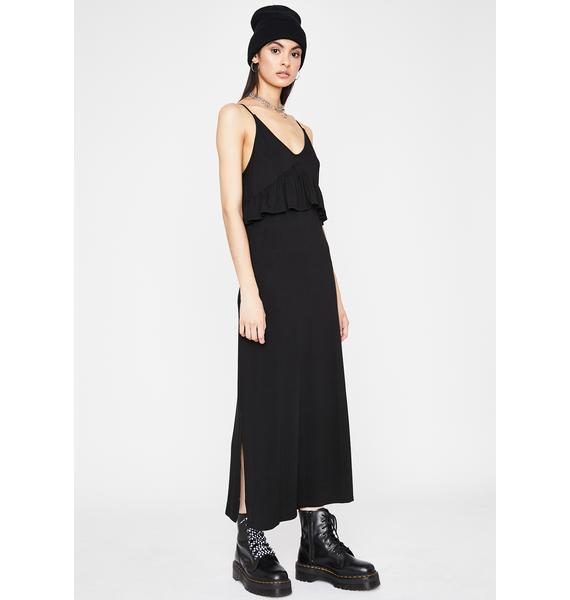 Chic Edition Ruffled Dress