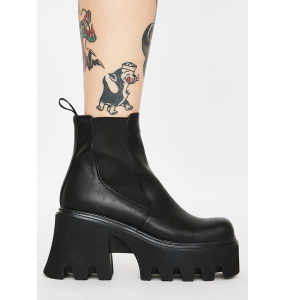 Current Mood Breakin' Rulez Platform Boots