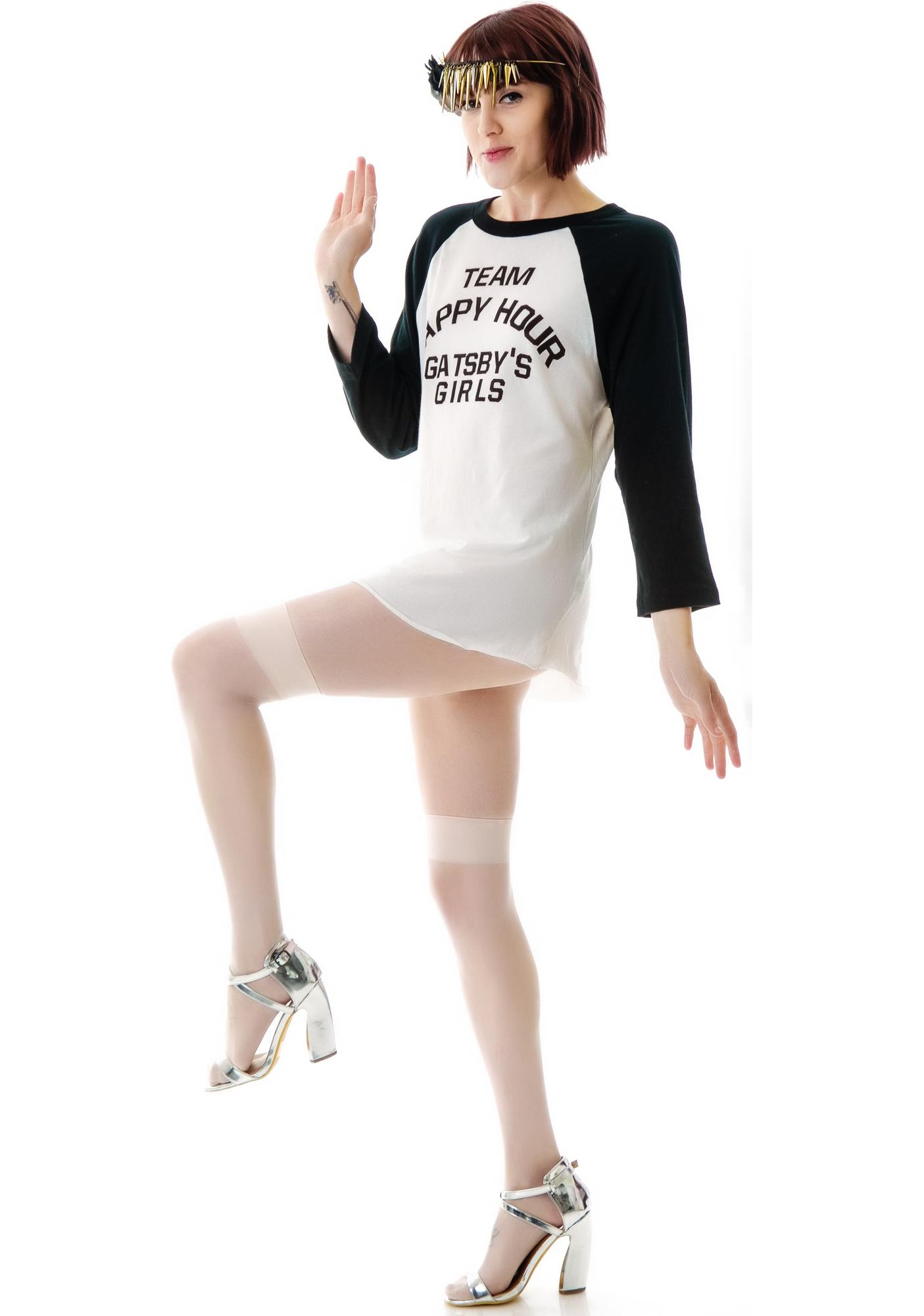 Wildfox Couture Team Happy Hour '79 Raglan