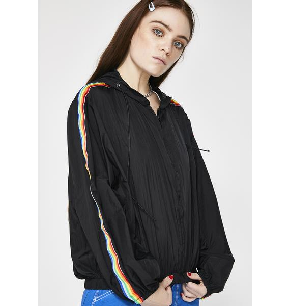 Chasing Rainbows Hooded Jacket