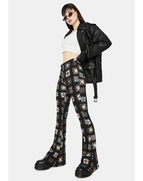 Vintage Realness Flare Pants