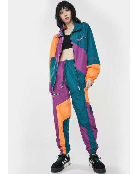 Acknowledge Color Block Track Pants