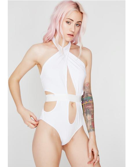 Icy Showin' Off Cut Out Bodysuit