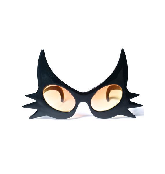 Black Cat Glasses
