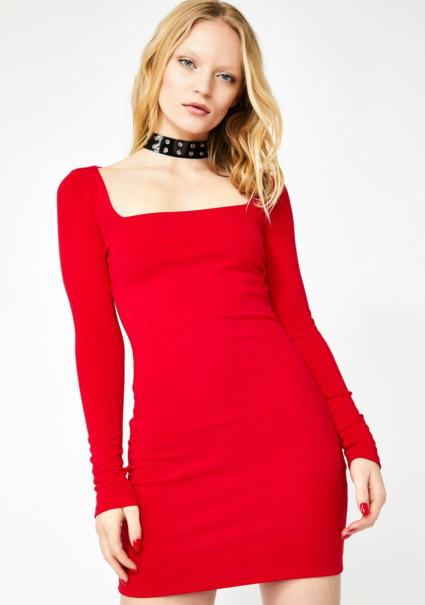 Burning Angst Mini Dress