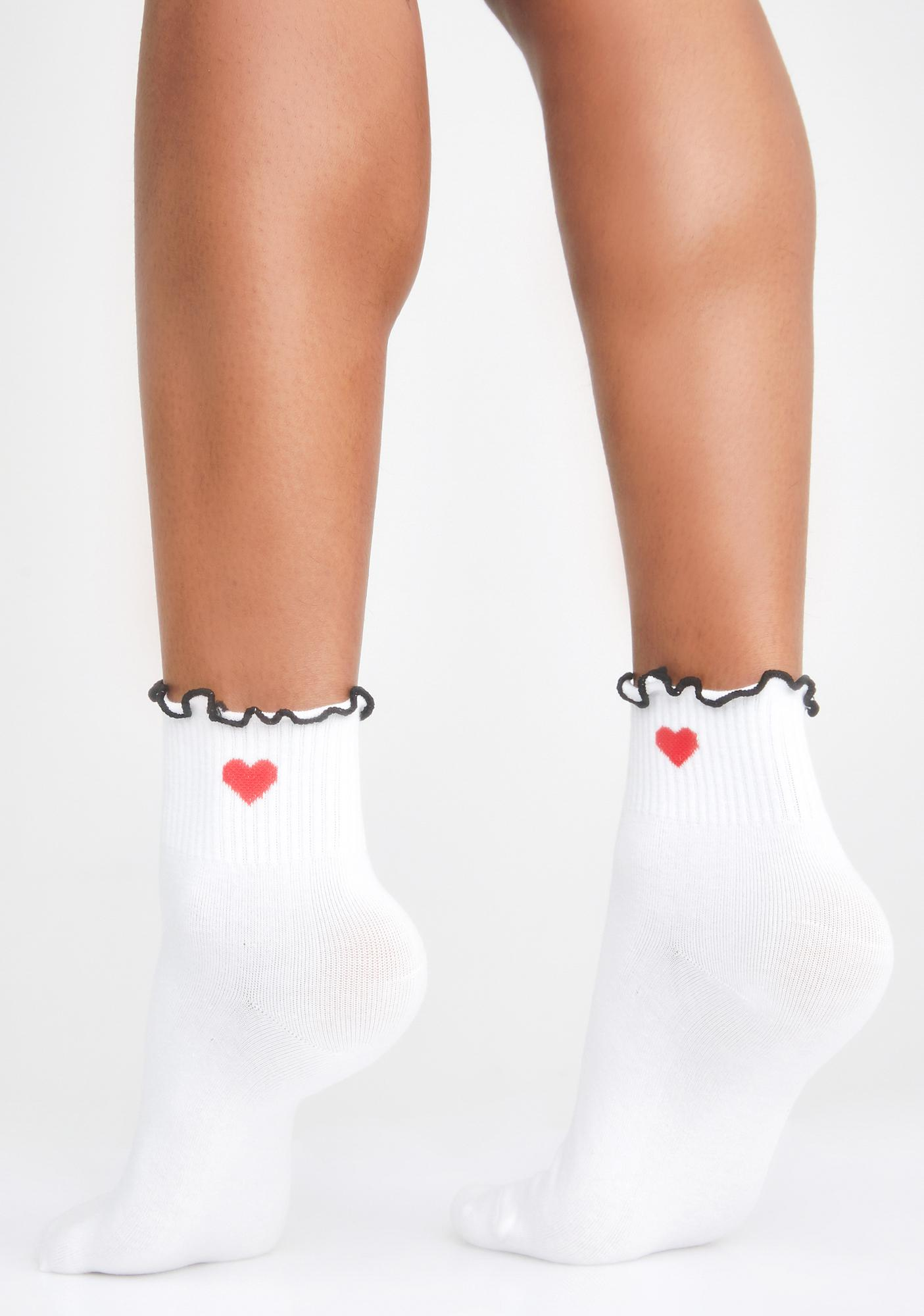 Heart Times Ankle Socks