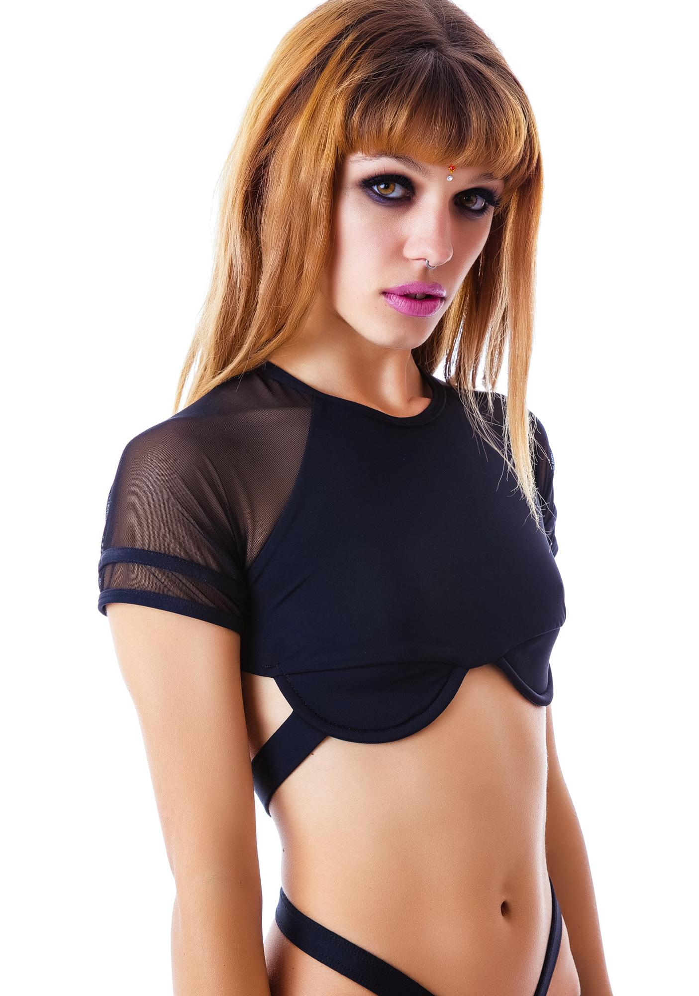 Chromat Underbust Uniform Top