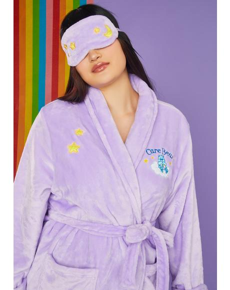 My Cuddle Puddle Bedtime Robe And Eye Mask Set