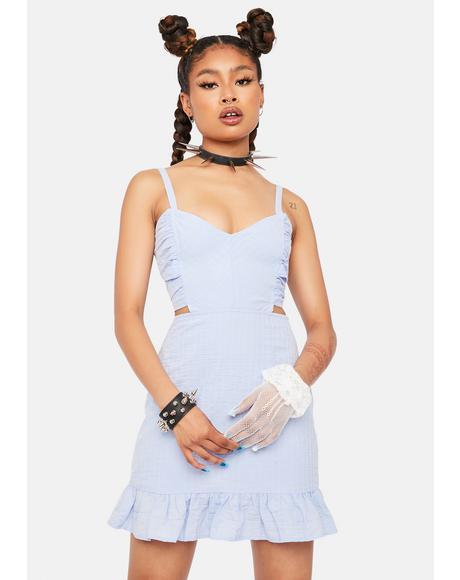 Cornflower You Mean More Mini Dress