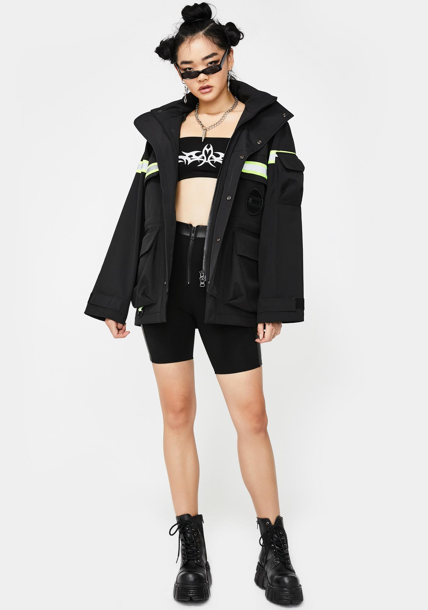Ziq & Yoni Lifesaver Reflective Jacket