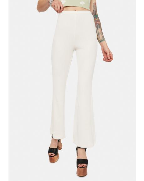 Bone Stuck In The Middle High Waist Flares