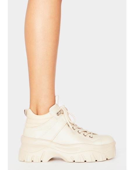 Off White Fay Platform Sneakers