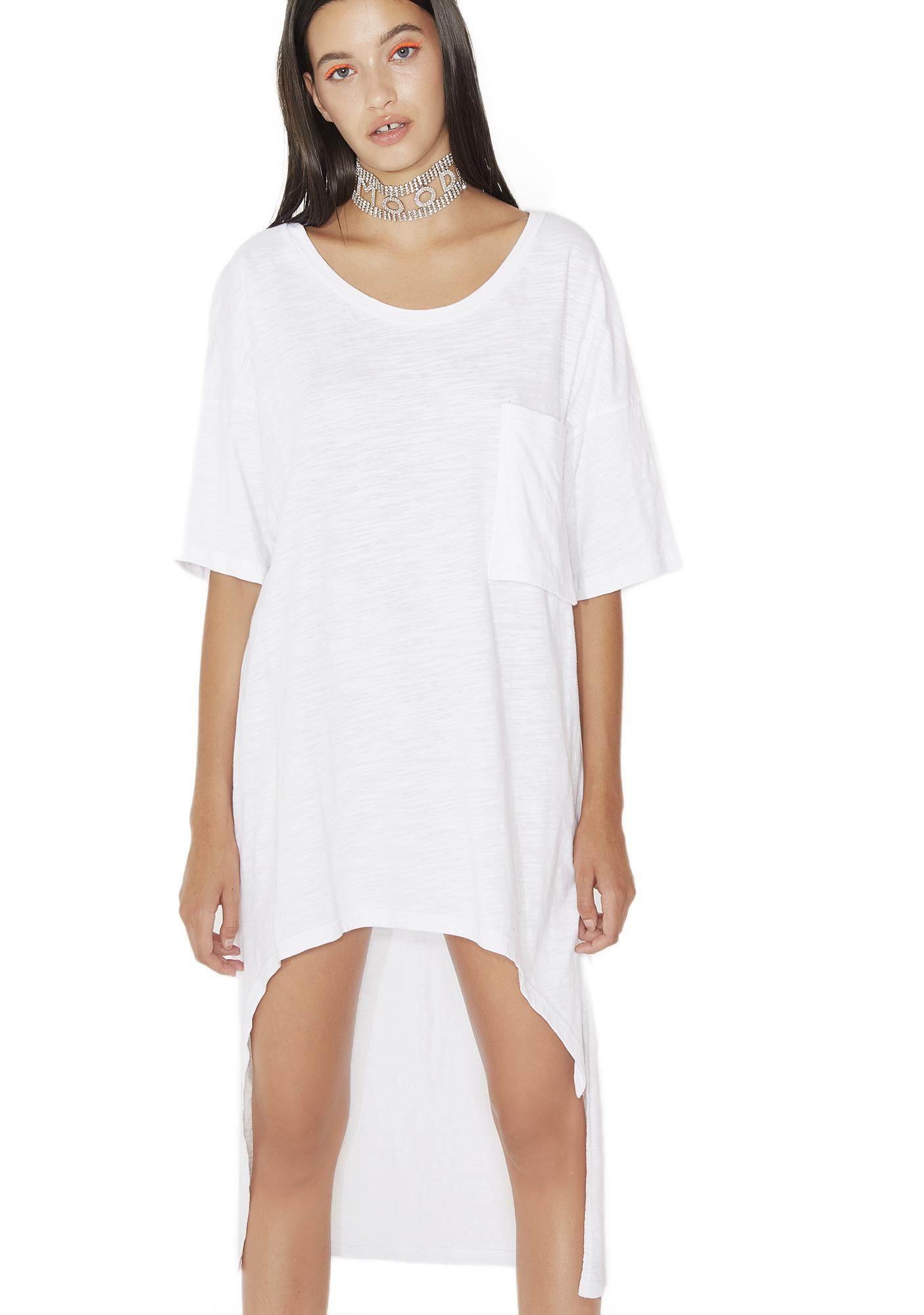 Split Ways T-Shirt Dress