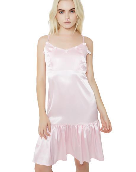 Roses Satin Dress