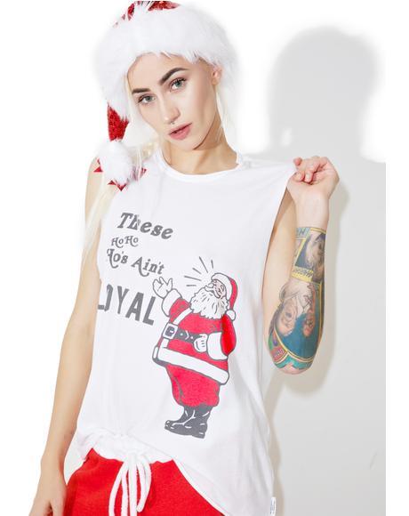 Loyal Santa Muscle Tee