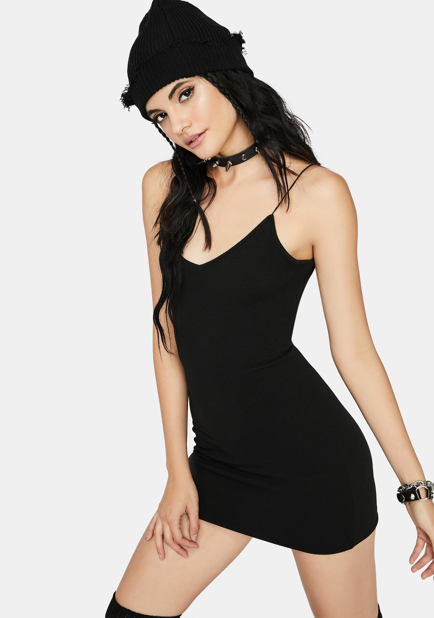 Baddie Chic Mini Dress