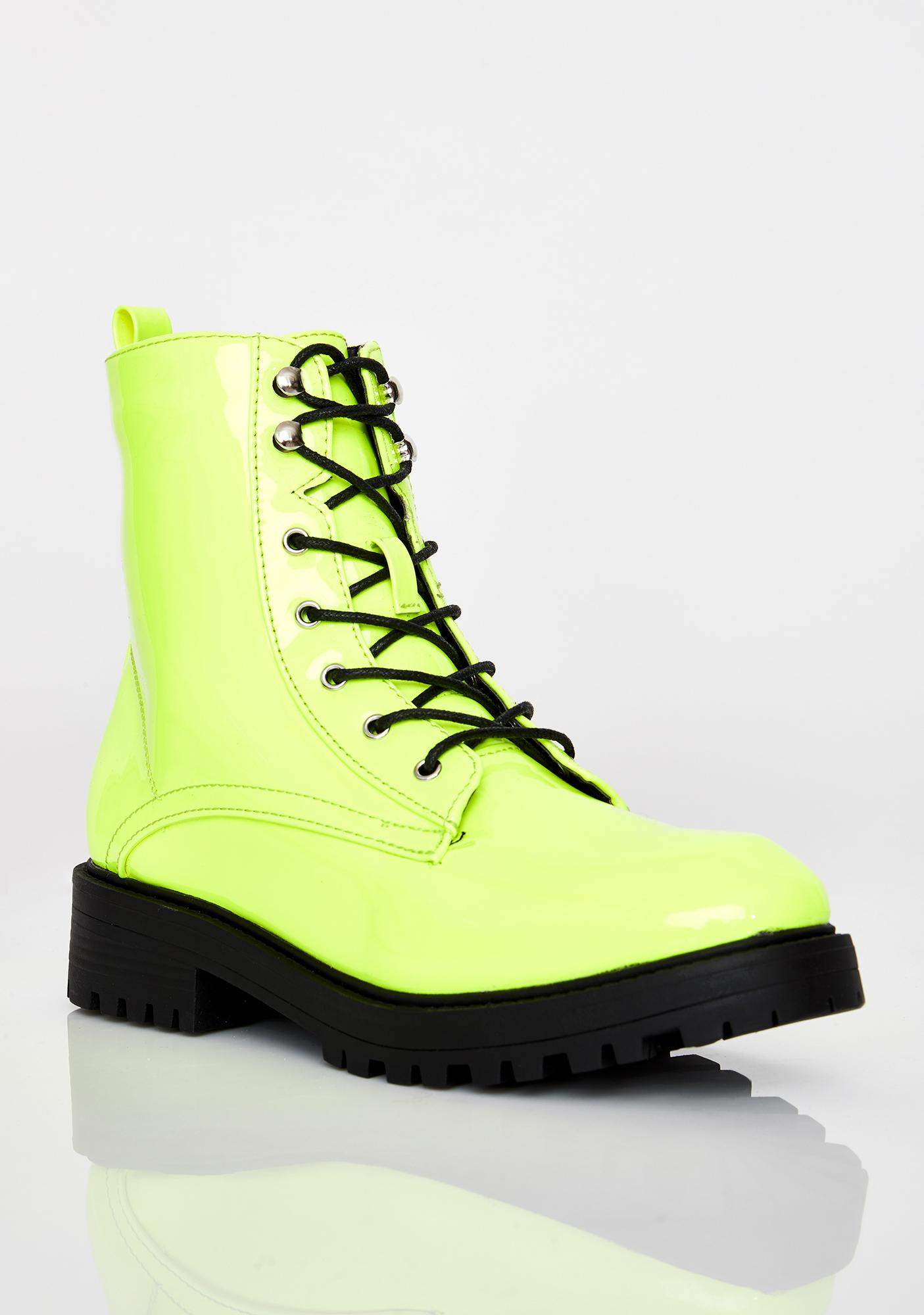 Electric Buck Off Combat Boots