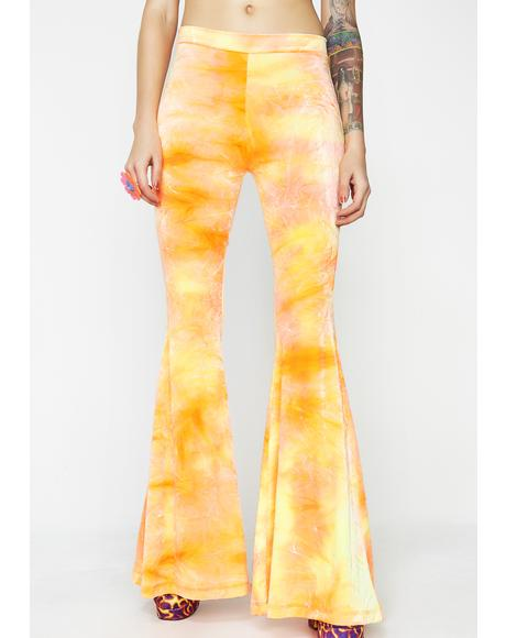 Sun Velvet Bell Bottoms