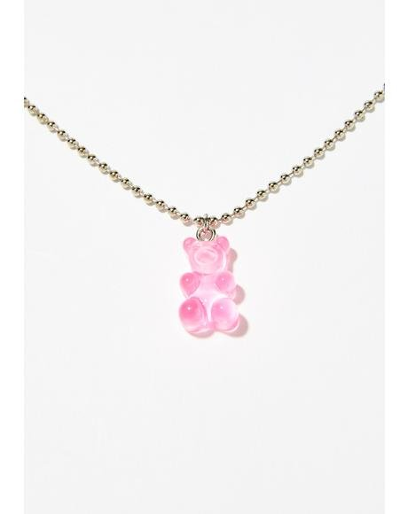 Sugar Fix Gummy Bear Necklace