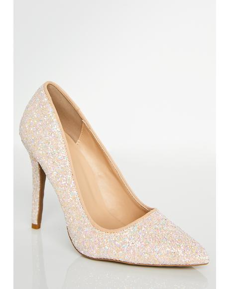 Lady Glitter Sparkles Pumps