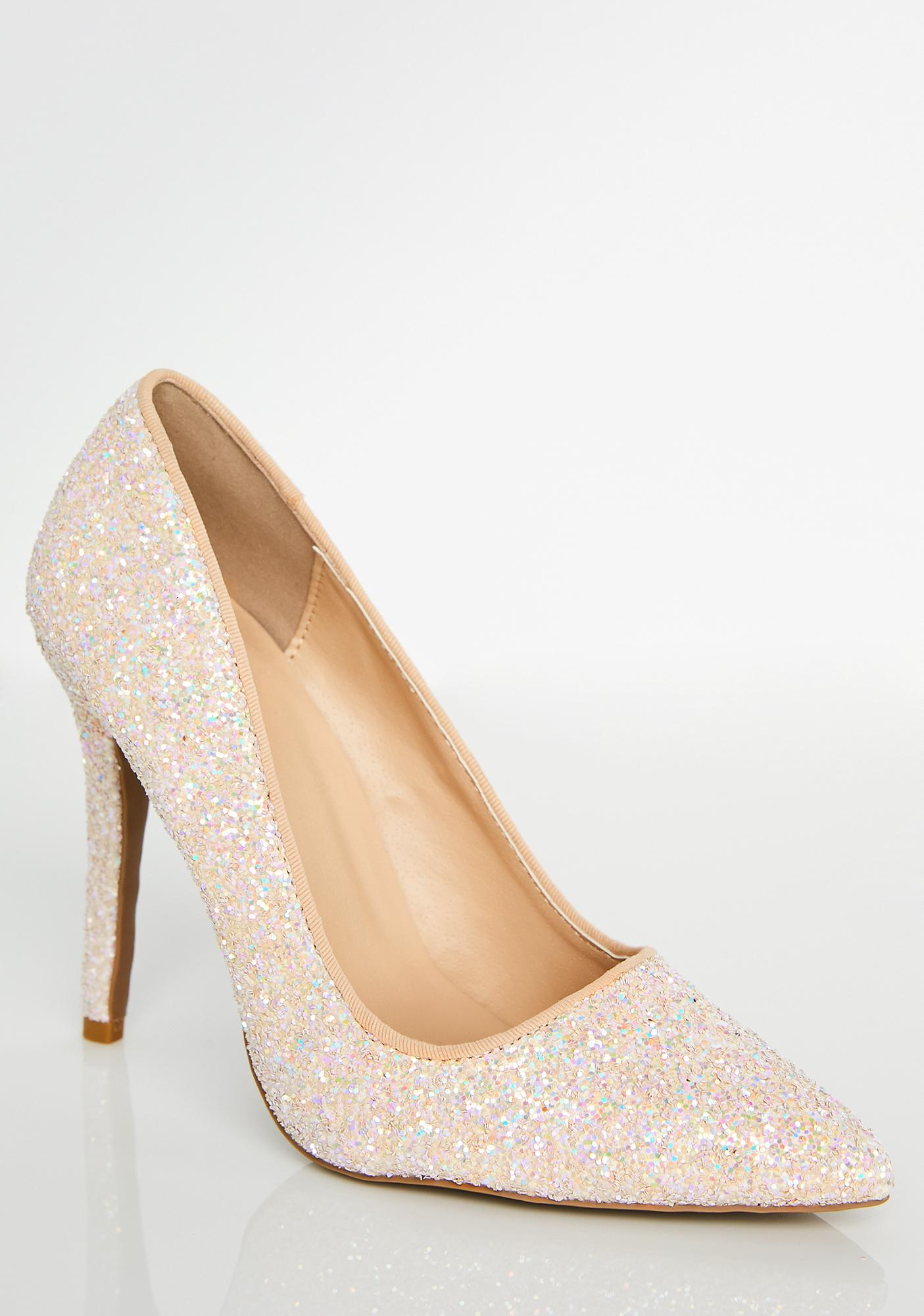 Lady Glitter Sparkles Pumps
