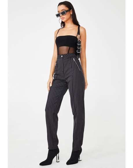 Clueless Pinstripe Pants