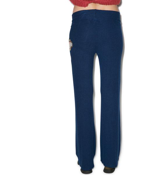 Wildfox Couture Celtic Rose Baggy Beach Pants
