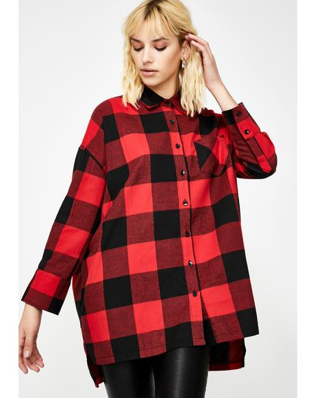 Gimme A Break Flannel Shirt