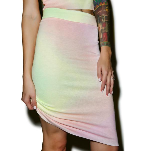 Wildfox Couture Rainbow Brite Skipper Skirt