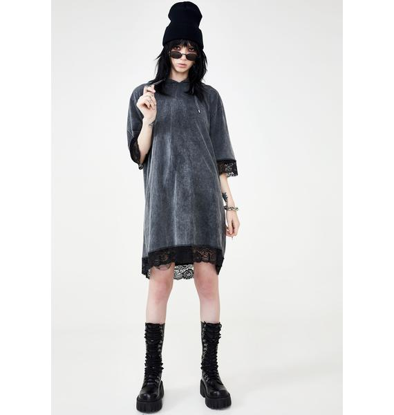 Disturbia Sabbath Hoodie Dress