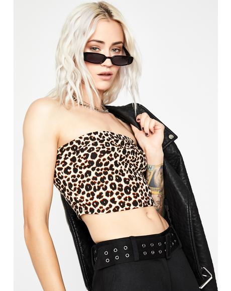 Catty Mess Tube Top