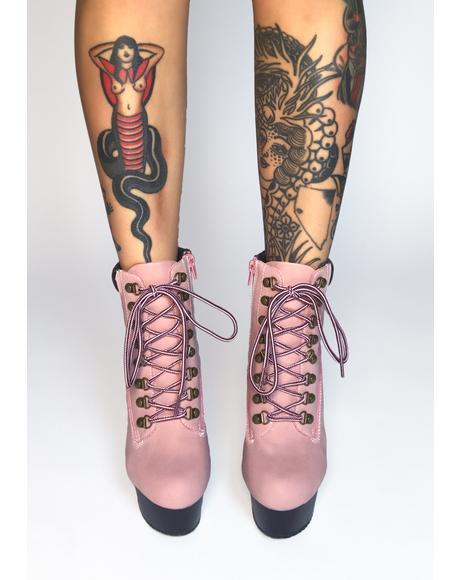Find Delight Platform Heels
