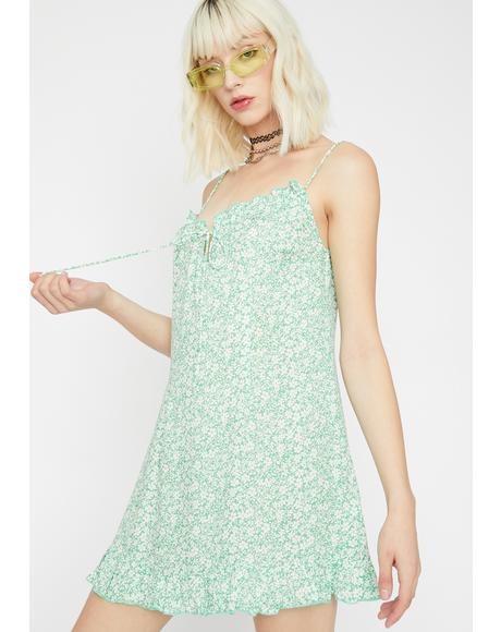 Dank Enchanted Garden Babydoll Dress