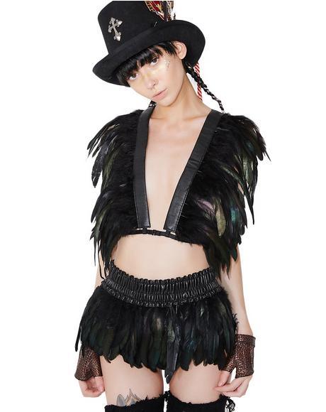 Bird Of Prey Feather Skirt