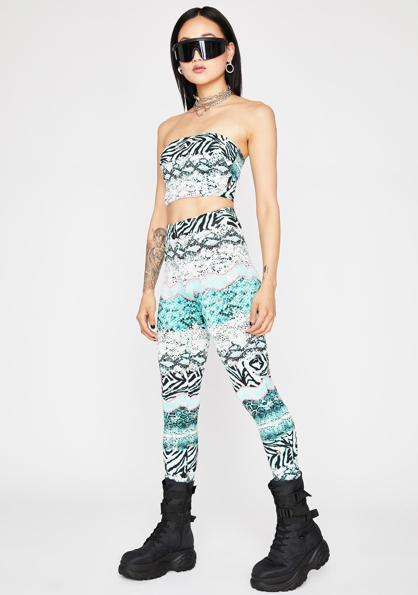 Jade Animal Kingdom Pant Set