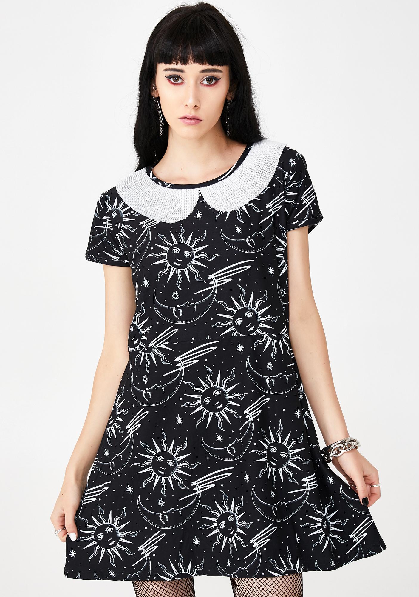 bf8595acf144d Celestial A-Line Mini Dress