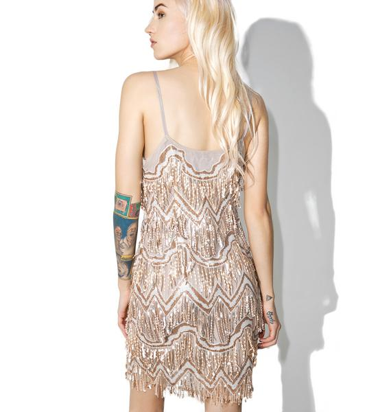 Glamorous Zelda Fringe Mini Dress