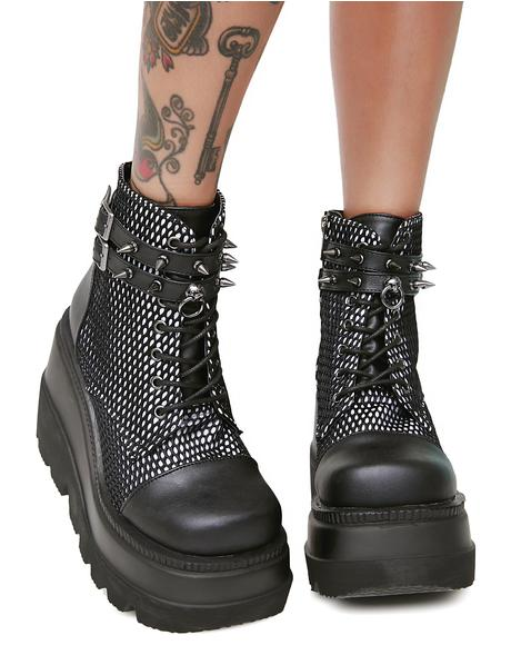 Exclusive Bondage Technopagan Boots