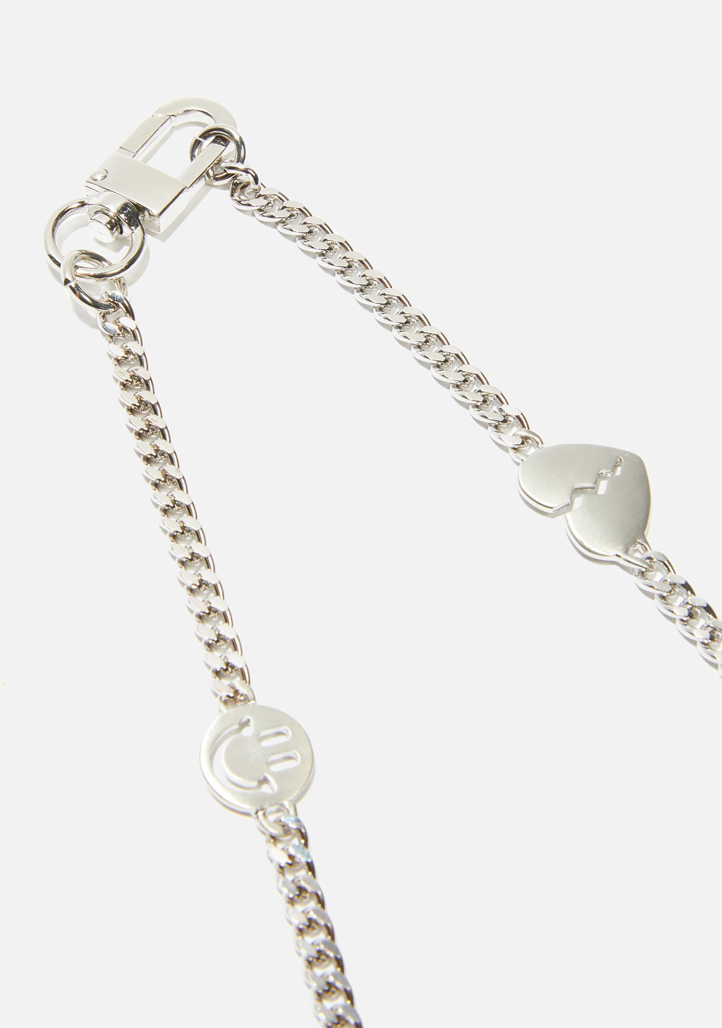 Mixed Emotions Chain Necklace