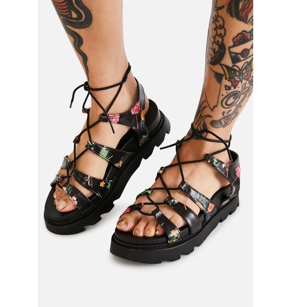 Lamoda Posy Parade Gladiator Sandals