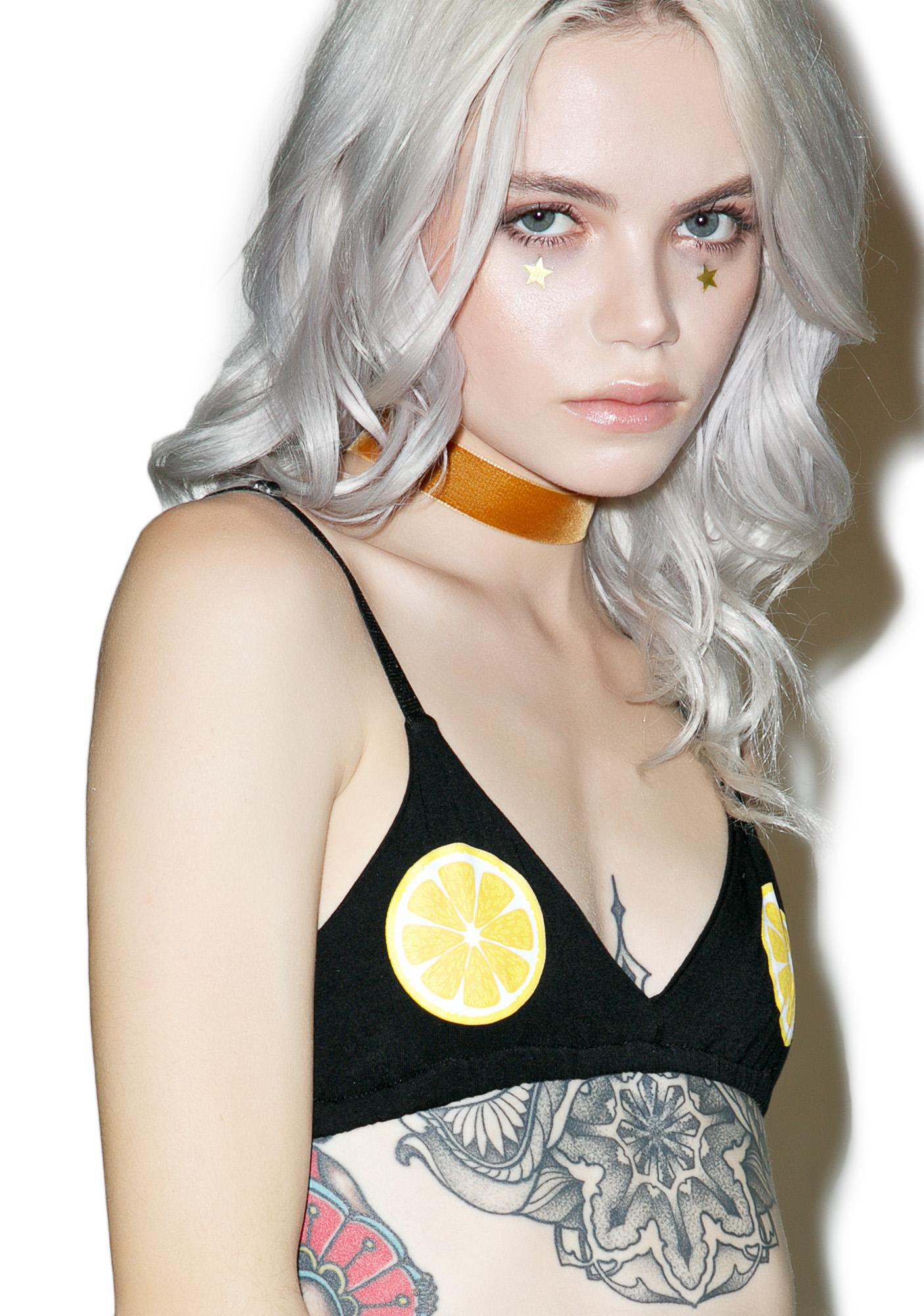 O Mighty Lemon Tits Bralette