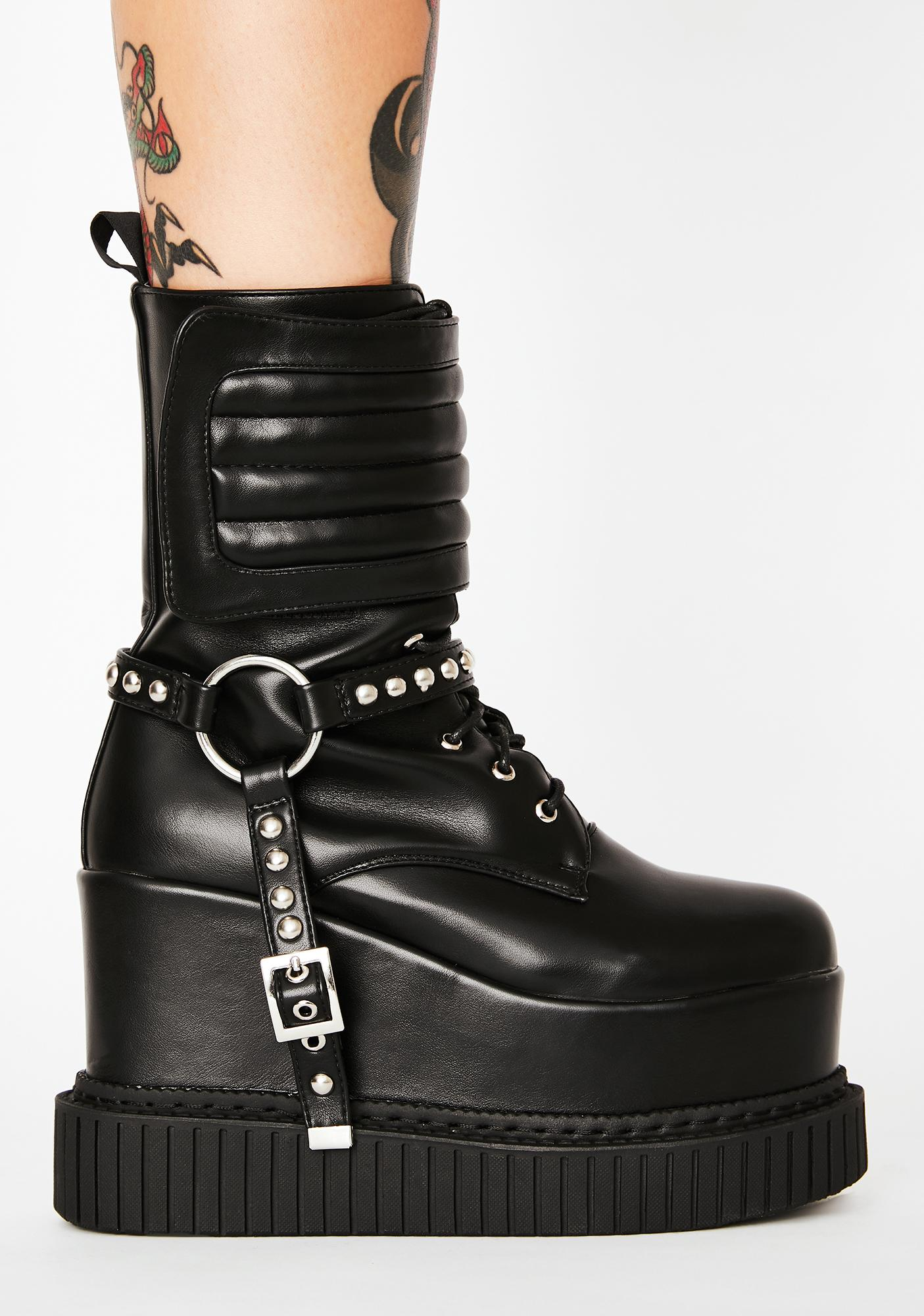 Lamoda Expectations High Wedge Boots